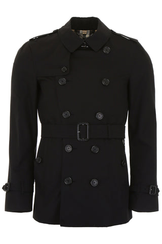 Burberry Sandringham Short Trench Coat
