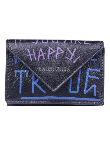 Balenciaga Graffiti Envelope Wallet