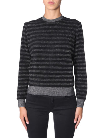 Saint Laurent Striped Crewneck Jumper