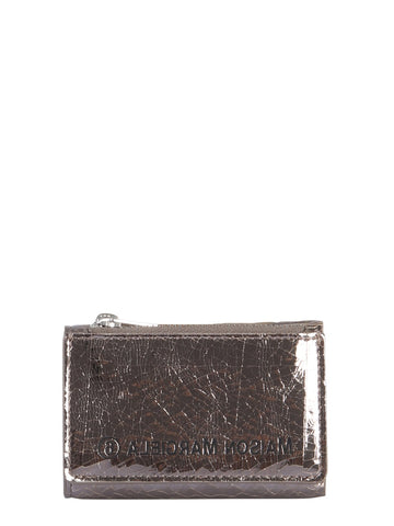 Mm6 Maison Margiela Logo Zipped Wallet