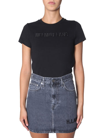 Helmut Lang Logo Embroidered T-Shirt
