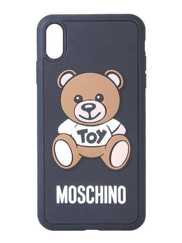 Moschino Teddy Logo iPhone X Cover