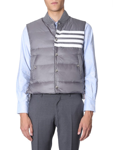 Thom Browne 4 Bar Down Vest