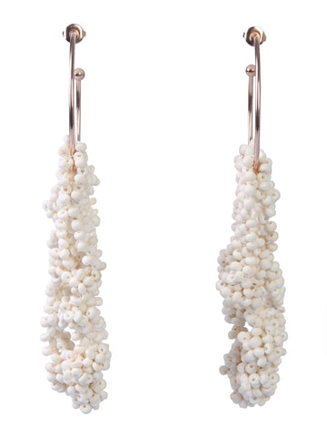 Isabel Marant Bead Detail Drop Earrings