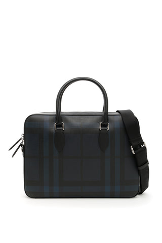 Burberry Hambleton Check Briefcase