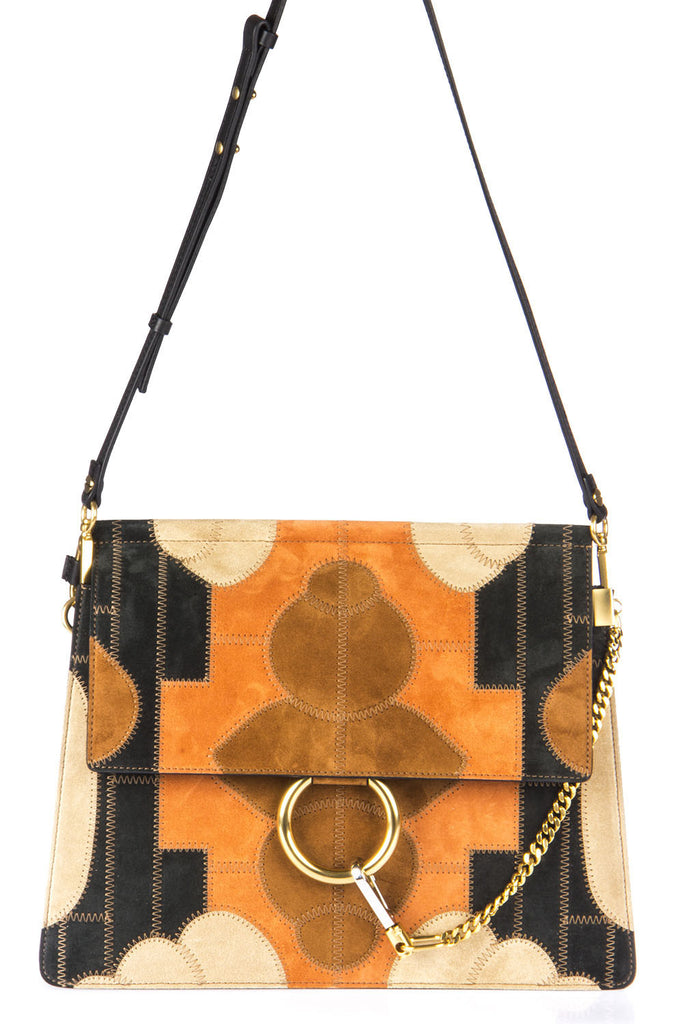 Chloé Faye Patchwork Shoulder Bag