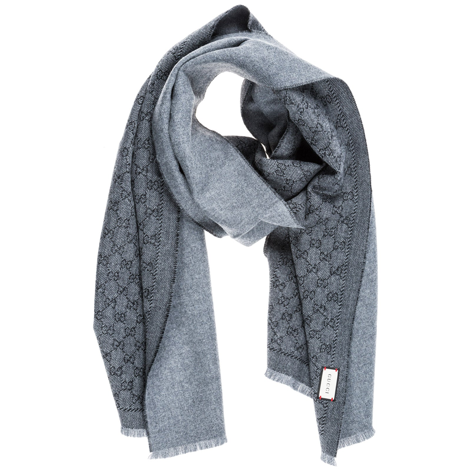 54cf82a58 Gucci Gg Jacquard Scarf In Only One Size | ModeSens