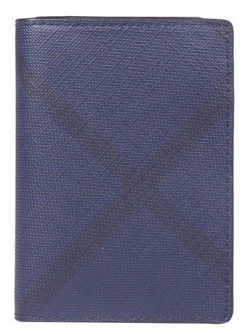 Burberry London Check Folding Card Case