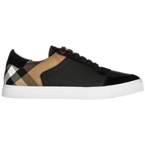 Burberry Checked Detail Sneakers