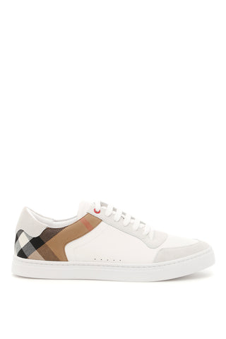 Burberry House Check Trim Sneakers