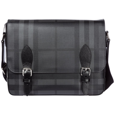 Burberry Checked Messenger Bag