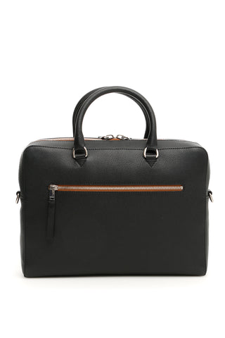 Burberry Logo Zip Briefcase