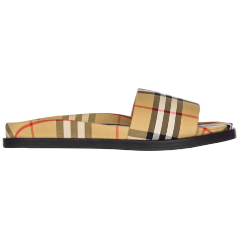 Burberry Classic Checked Slides