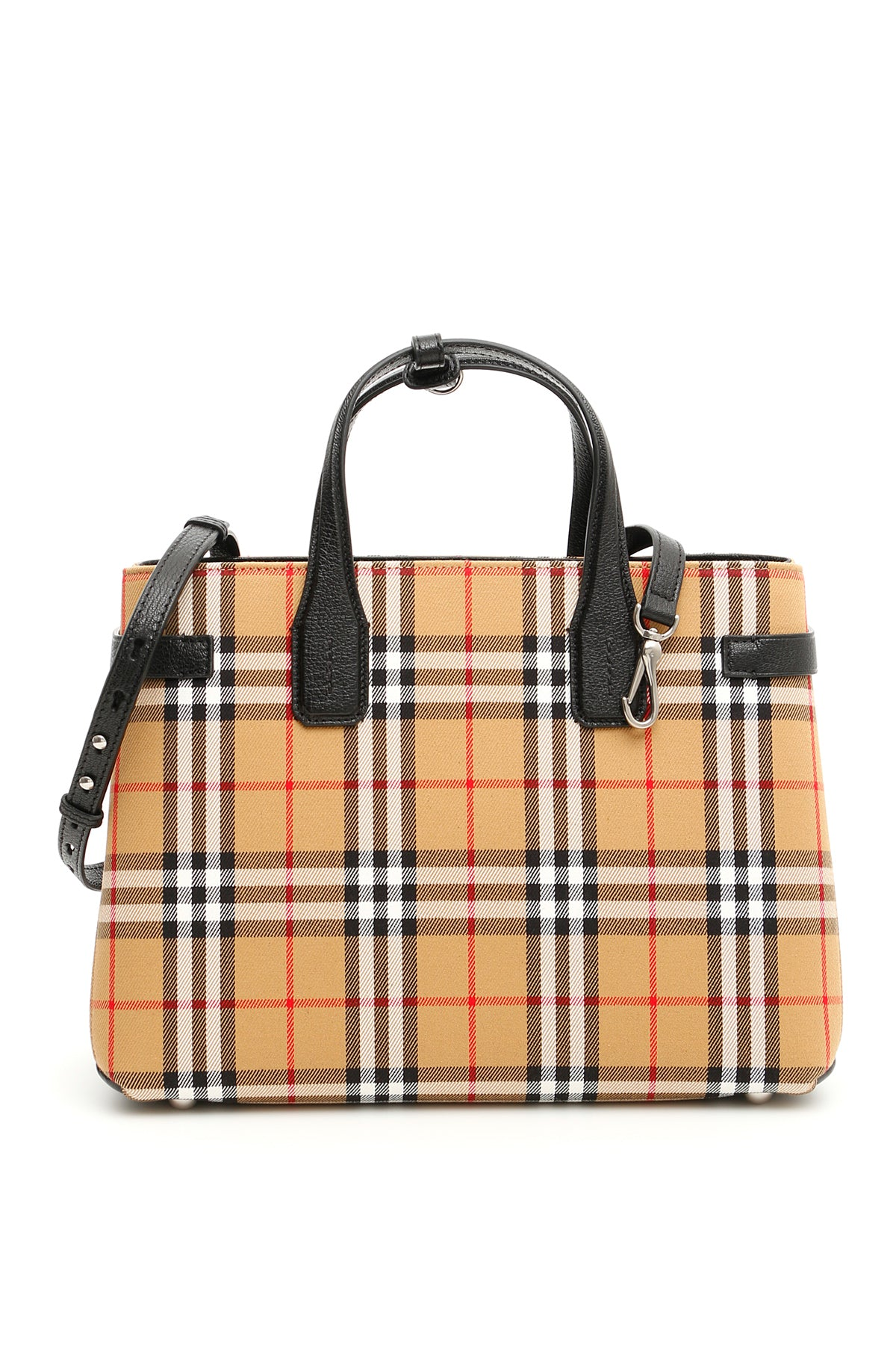 BURBERRY BURBERRY MEDIUM BANNER VINTAGE TOTE BAG. Photo  CETTIRE 88337963edd52