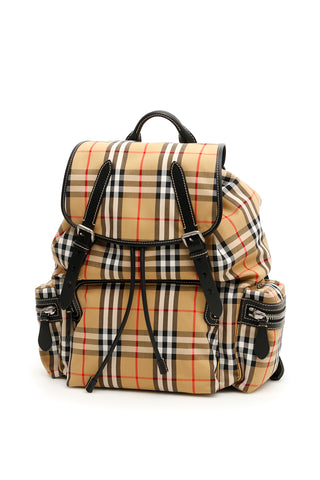 Burberry Large Vintage Checked Backpack