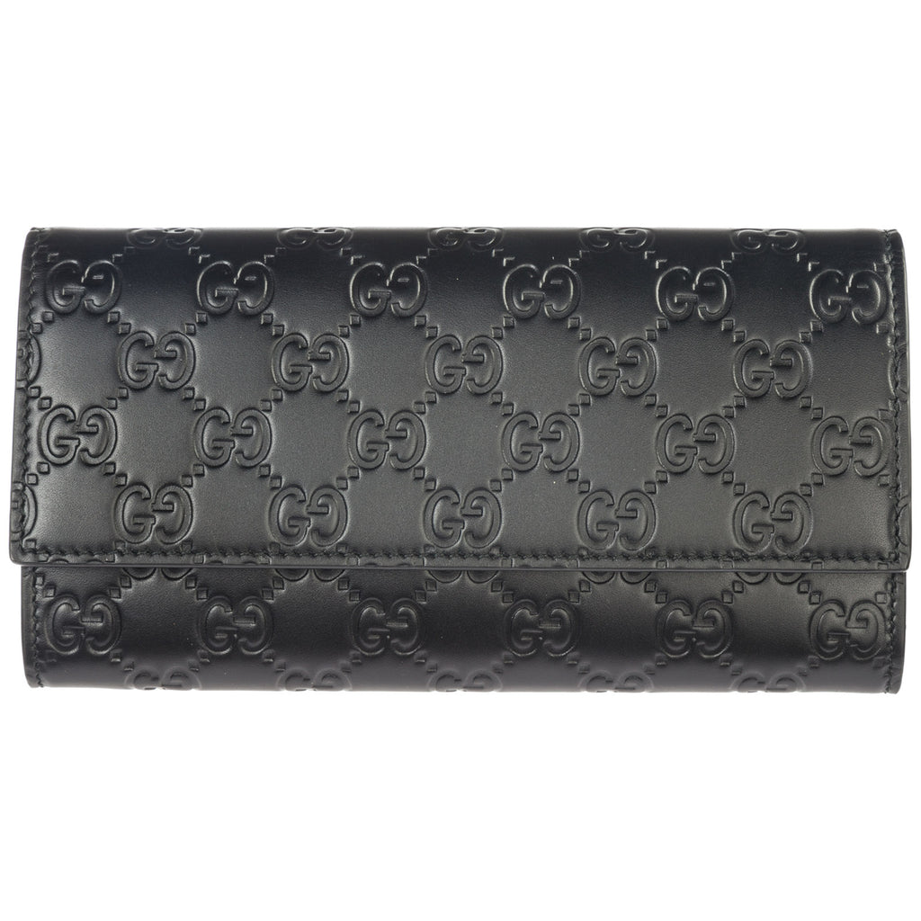 Gucci Signature Continental Quilted Wallet