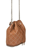 Stella McCartney 'Falabella' Quilted Bucket Bag