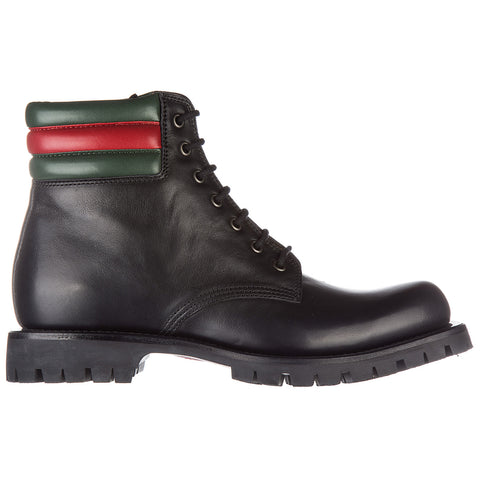 Gucci Military Boots