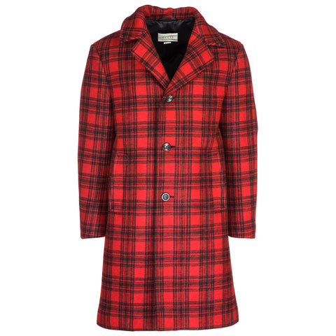 Gucci Checked Coat