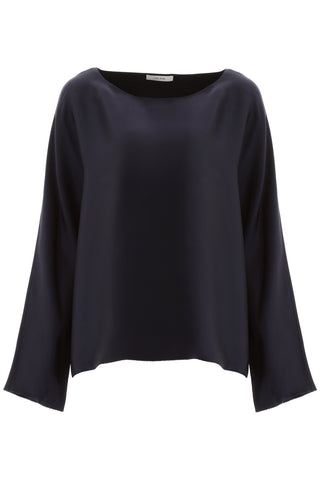 The Row Dylia Boat Neck Blouse