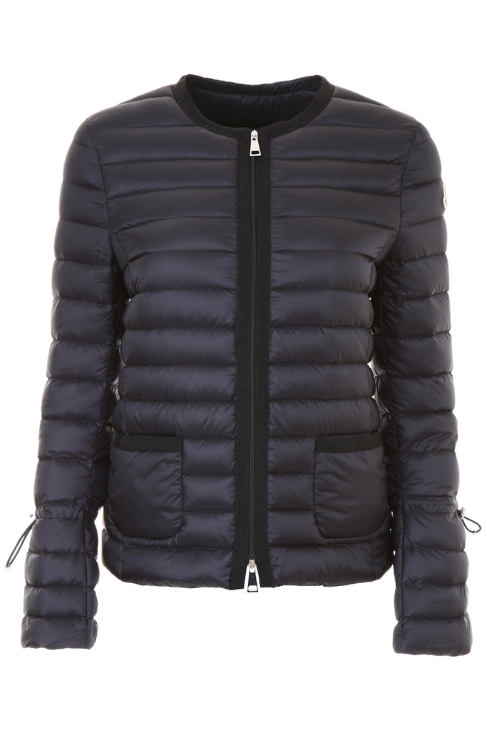 Free Shipping Sneakernews Moncler collarless padded coat Cheap Sale Recommend Really YjXbGXYi5F