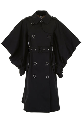 Burberry Cape Sleeves Trench Coat