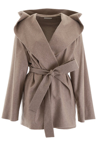 The Row Reyna Belted Hooded Coat