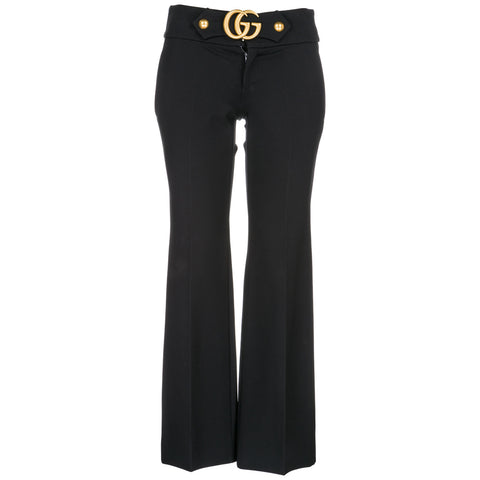 Gucci GG Belted Flare Pants