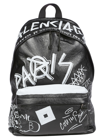 Balenciaga Explorer Graffiti Backpack