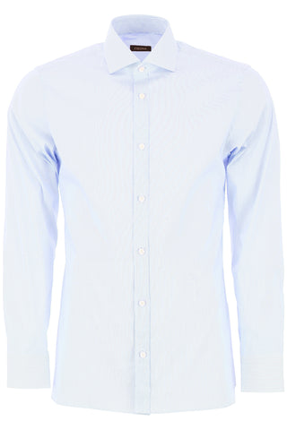 Z Zegna Pinstripe Tailored Shirt