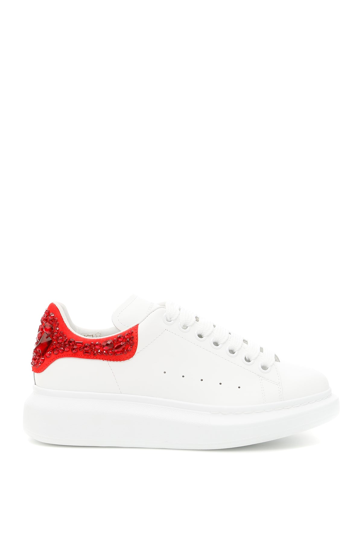 ALEXANDER MCQUEEN EMBELLISHED ANKLE CHUNKY SNEAKERS