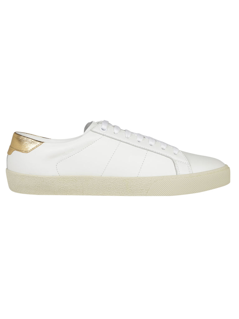 Leather Sneakers - IT35 / White Saint Laurent GD0uL