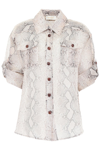 Zimmerman Sheer Printed Blouse