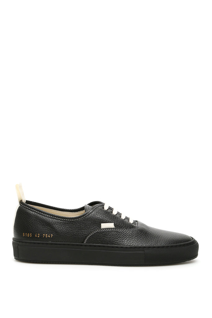 Common Projects Sneakers COMMON PROJECTS PEBBLED LOW TOP STITCHED SNEAKERS