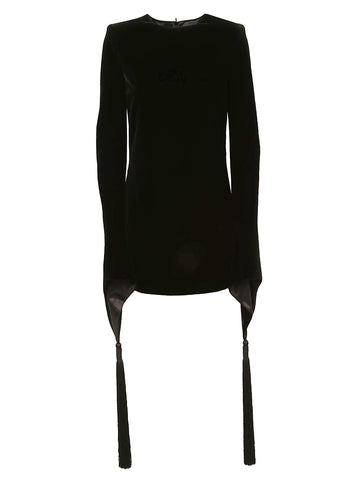Saint Laurent Wide Sleeves Dress