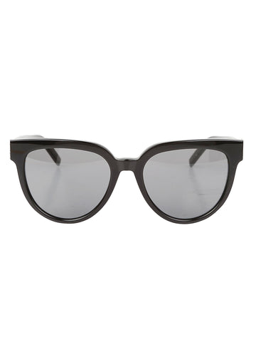 Saint Laurent Cat Eye Logo Sunglasses