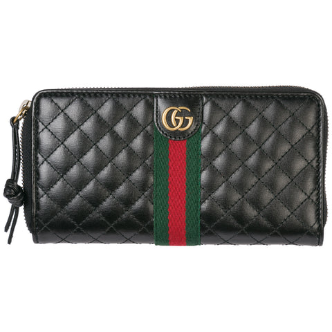 Gucci Double G Zip-Around Wallet