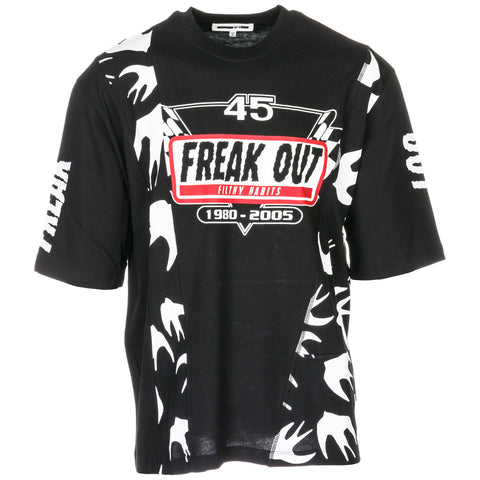 MCQ Alexander McQueen Freak Out Print T-Shirt
