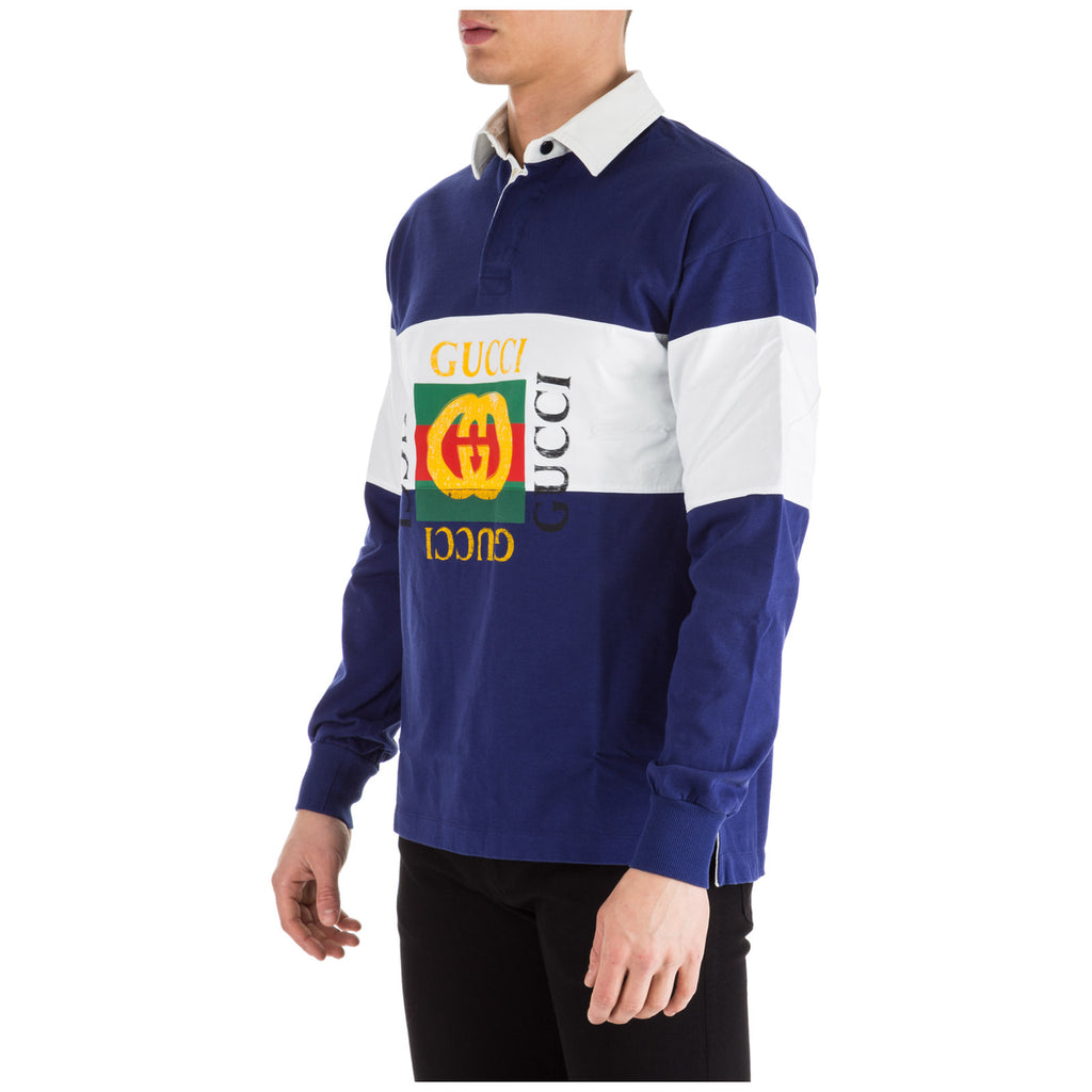 aa8492bd Gucci Logo Rugby Polo Shirt – Cettire
