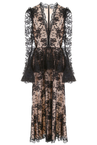 Alexander McQueen Sheer Panelled Dress