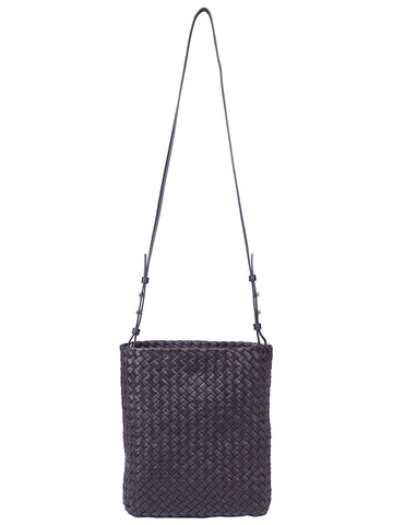 Bottega Veneta Cabat Woven Bucket Bag