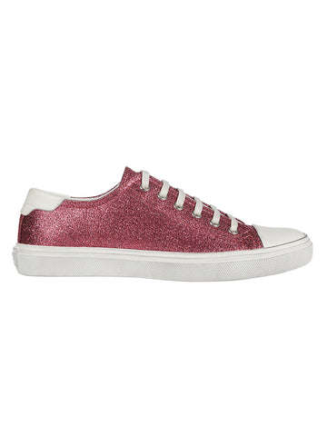 Saint Laurent Bedford Glitter Sneakers