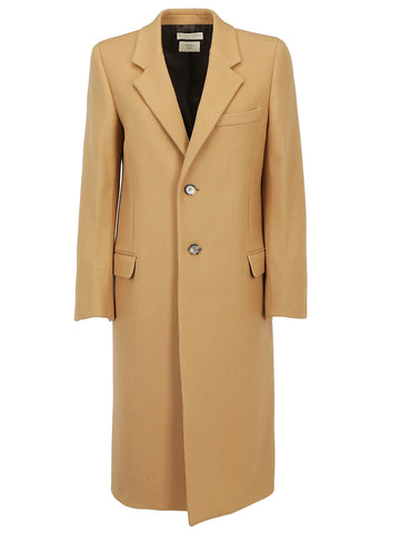 Bottega Veneta Single Breasted Belted Coat