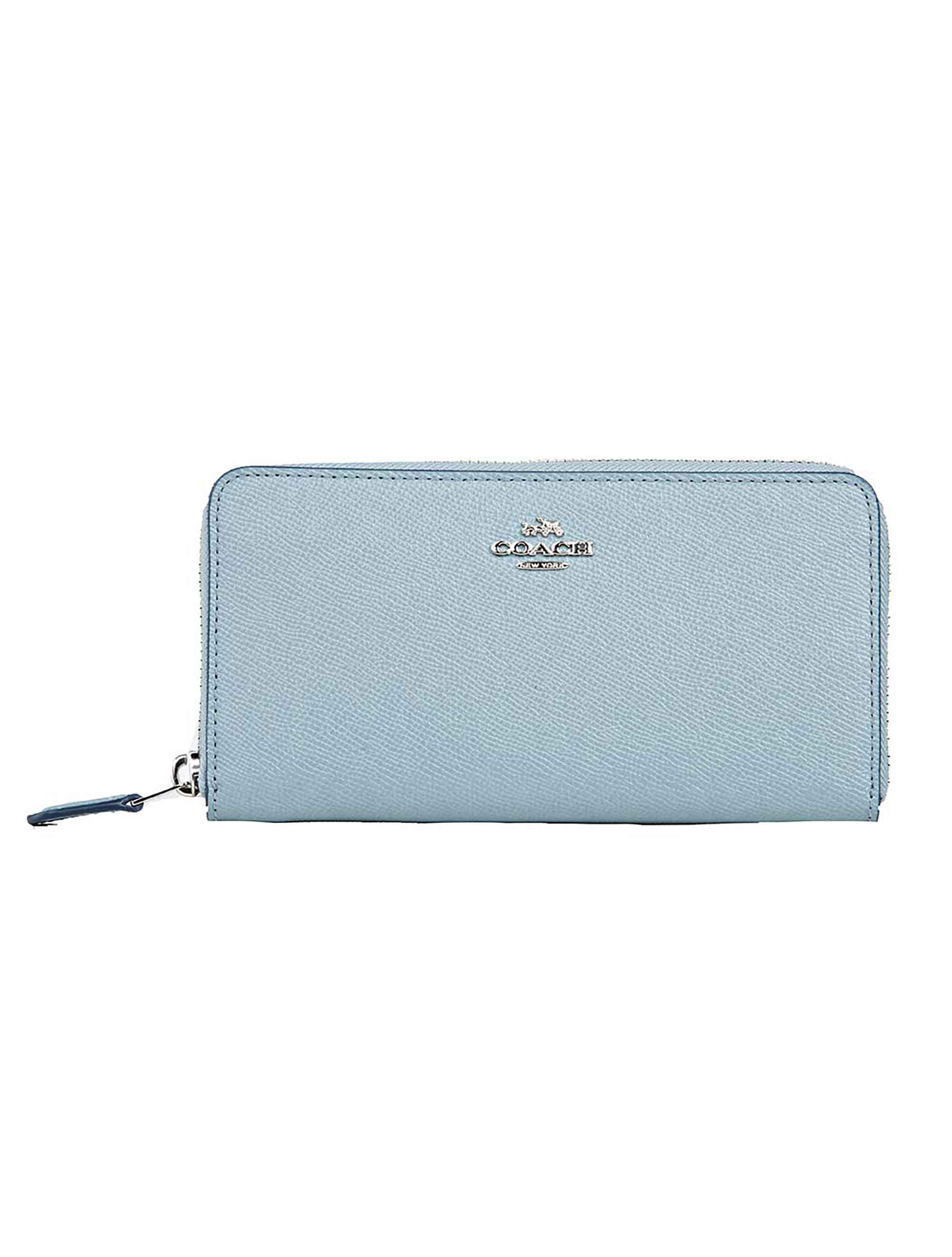 COACH ACCORDION LEATHER WALLET