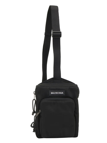 Balenciaga Explorer Logo Crossbody Messenger Bag