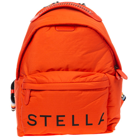 Stella McCartney Logo Printed Backpack