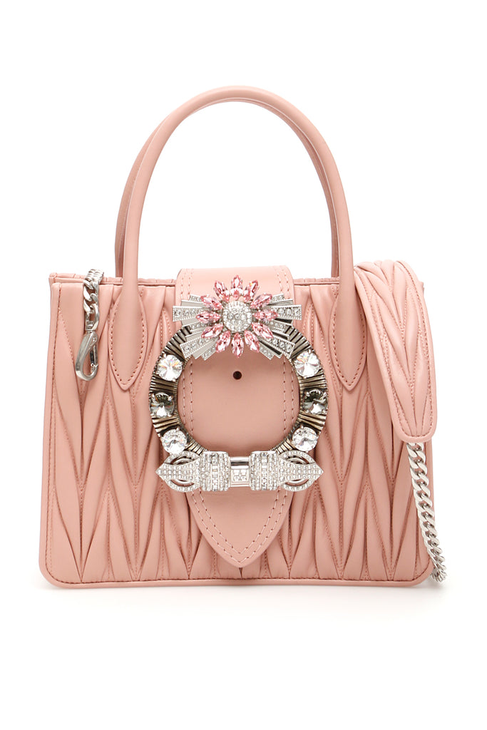 c283229bf25 Miu Miu Lady Matelassé Shoulder Bag – Cettire