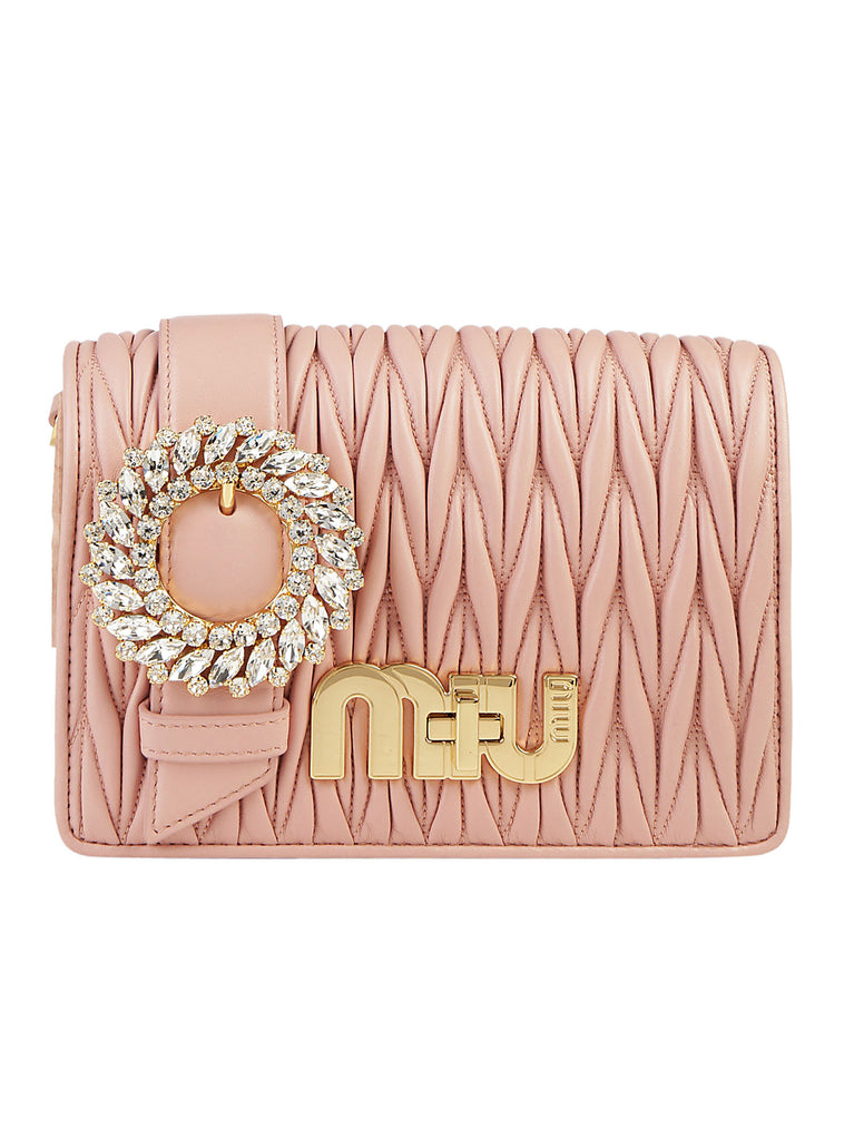 Cheap Sale Inexpensive Matellassè Shoulder Bag - Only One Size / Pink Miu Miu For Sale Online Store 100% Guaranteed Sale Online a6TRVZI2A