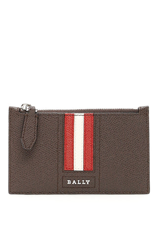 Bally Striped Card Holder