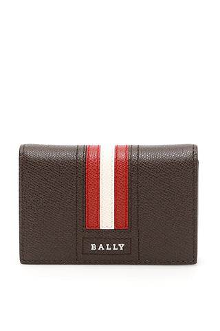 Bally Striped Logo Wallet